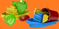 unicolor boat sets tumb